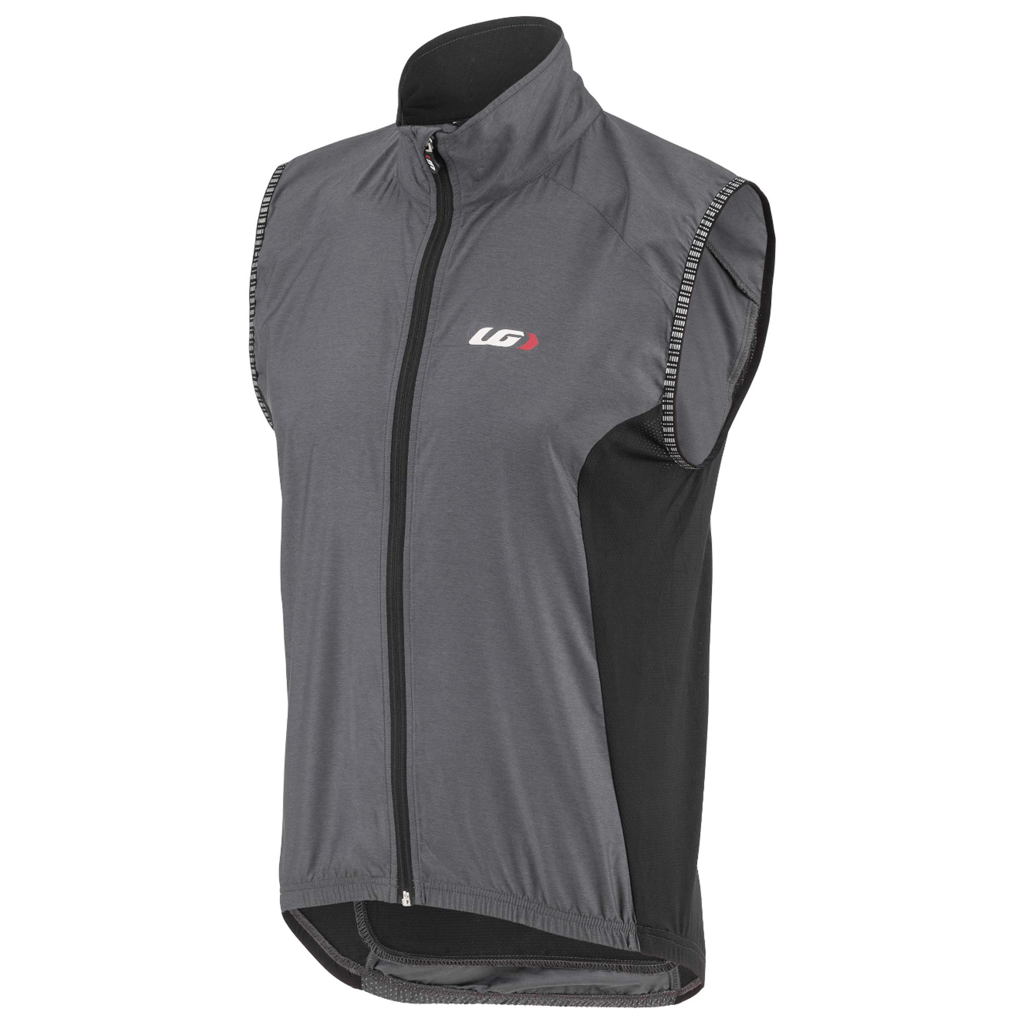 Louis Garneau Men's Nova 2 Bike Vest, Gray/Black, Small by Louis Garneau