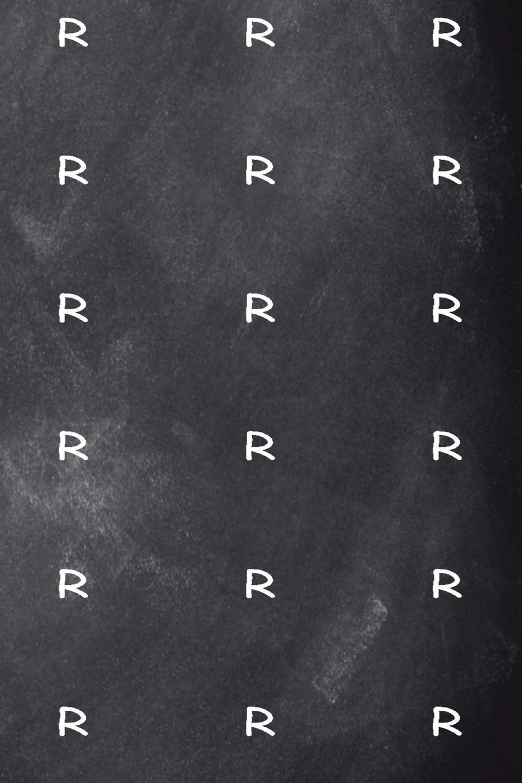 Download Monogram R Journal Personalized Monogram Pattern Custom Letter R Chalkboard: (Notebook, Diary, Blank Book) (Personalized Monogram Journals Notebooks Diaries) ebook