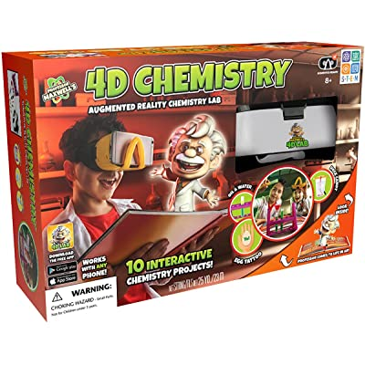 Professor Maxwell's 4D Augmented Reality Science Kit - Chemistry: Toys & Games