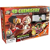 "Professor Maxwell's 628992010502 4D Chemistry Augmented Reality Science Kit, 17"" x 11"" x 5"", Red"