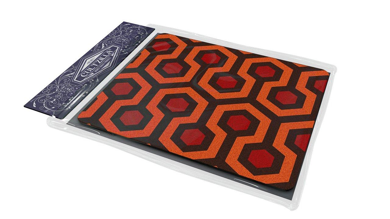 "Cultzilla - Alfombrilla para ratón, diseño de alfombra de la película ""El Resplandor"" (19 x 25 x 0,7 cm) NTECeaq"