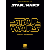 Star Wars Songbook: Easy Guitar with Notes &