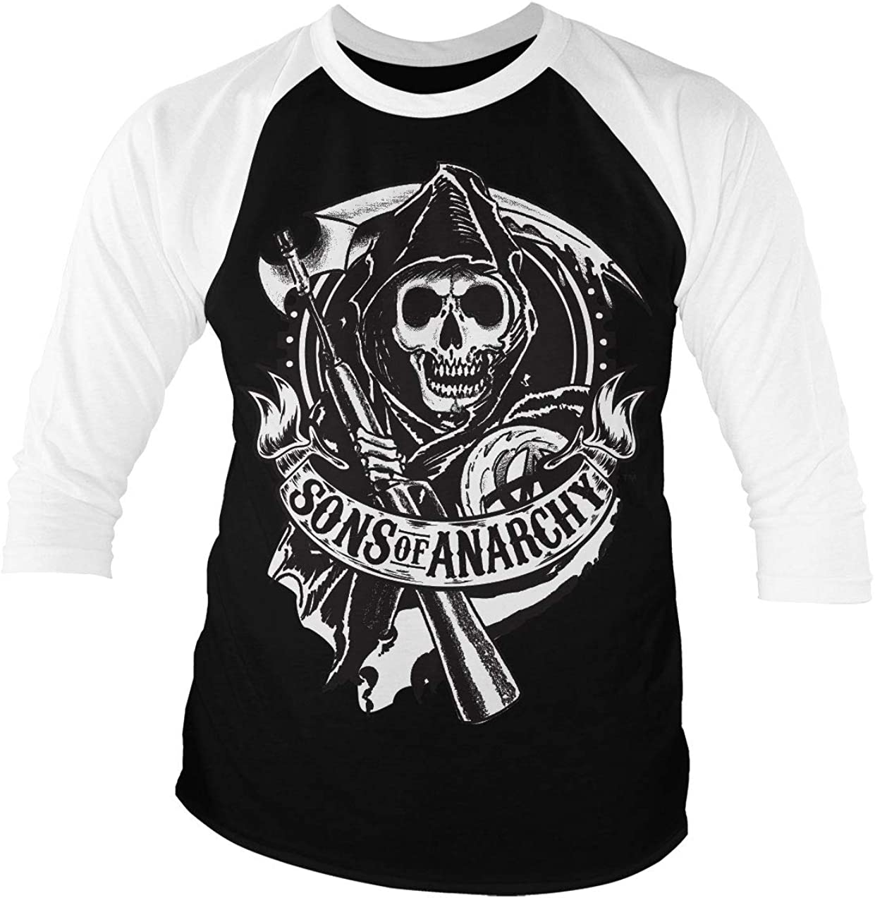 Sons of Anarchy SOA ORIGINAL REAPER CREW Licensed Adult T-Shirt All Sizes