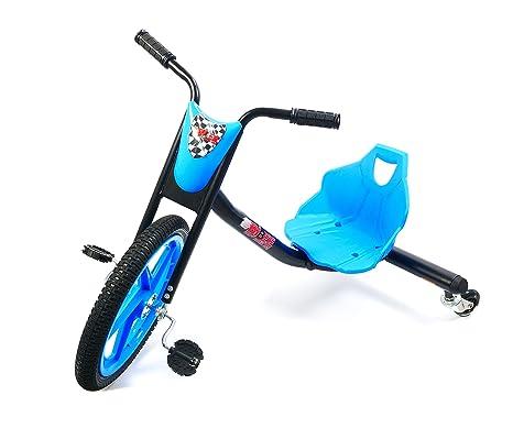 Bibee Drift Rider 360 Triciclo Mixta niño, Azul/Negro