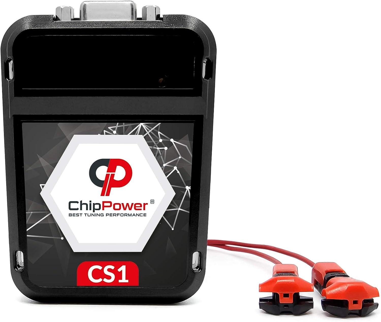 ChipPower Chiptuning CS1 f/ür Escort VII 1.8 96 kW 130 PS 1995-2000 Leistung Chip Tuning Box Benzin