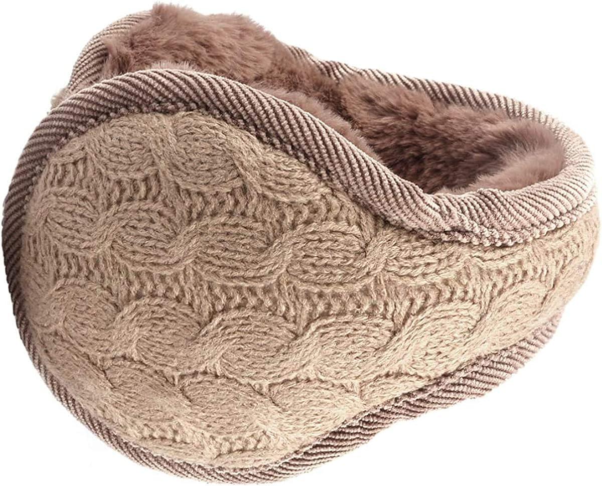 Metog Unisex Foldable Ear Warmers Polar kints Winter EarMuffs