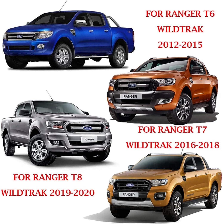 Heckklappen Heckklappenabdeckung Für Ford Ranger Wildtrak T6 T7 T8 2012 2020 Mk2 Mk3 Px Xl Xlt Limited 2 Mattschwarz Auto