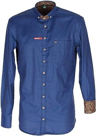Orbis 420001-3633/42 - Camisa para Hombre, Color Azul Azul 49 ...