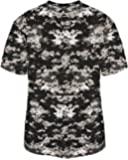 Digi-Camo Crewneck Sports Jersey Moisture Wicking Uniform Top (13 Youth & Adult Sizes, 14 Digi-Camo Colors)