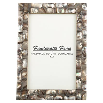 Amazon Com 4x6 Picture Frames Chic Photo Frame Mother Of Pearl