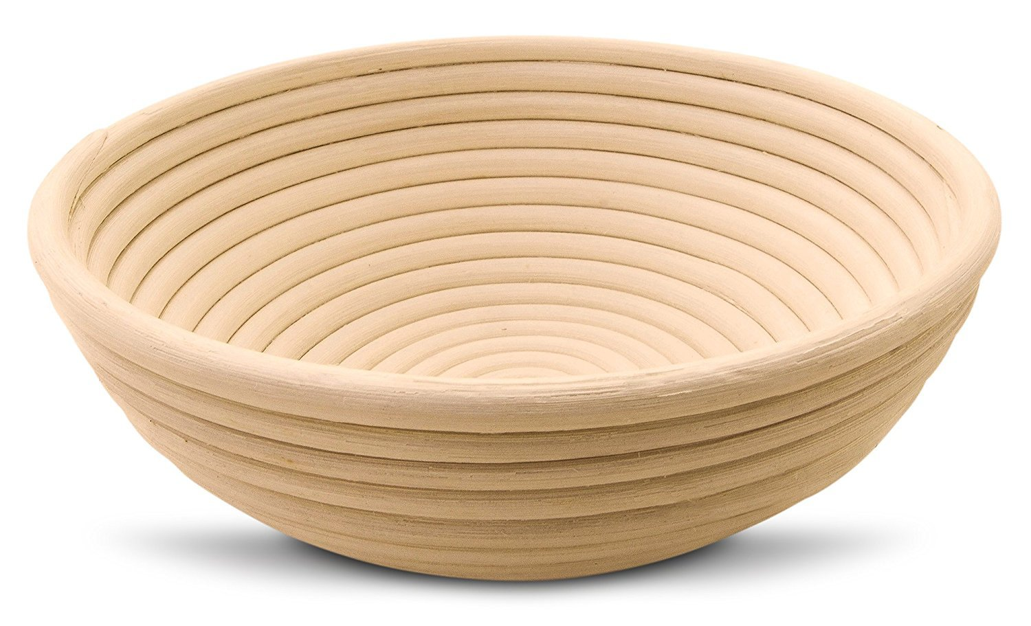 9 Inch Round Banneton Proofing Basket for Artisan Bread And Dough. E-Book Included With Instructions, Ideas And Recipes. Eco-Friendly Rattan Cane Brotform With Rising Pattern For Artisan Baking. Pingo Gear SYNCHKG091514
