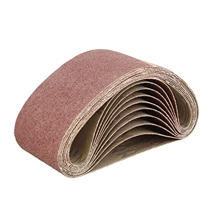 Style; Sandpaper Sanding Belt Abrasive Band Sander Durable Aluminum Oxide 40-120 Grit~# Fashionable In