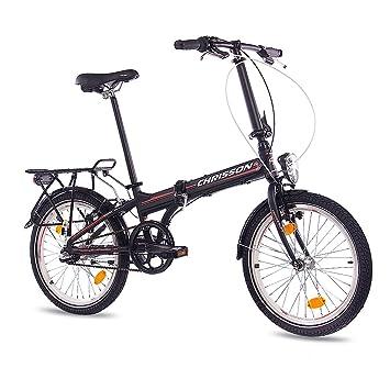 20 inch aleación de lujo ciudad bicicleta plegable bicicleta CHRISSON foldrider 2.0 con 3 velocidades SHIMANO