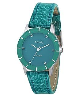 howdy Analogue Green Dial Women's Watch - Howdy-Ss379