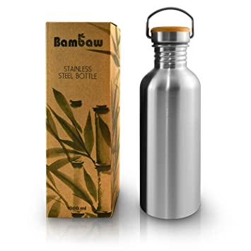 Botella de Agua de Acero Inoxidable | Botella Reutilizable ...