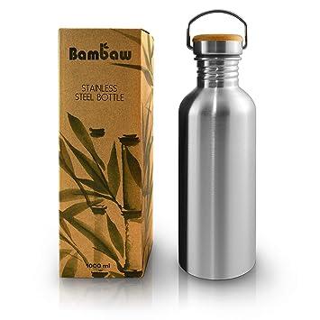 Botella de Agua de Acero Inoxidable | Botella Reutilizable ...