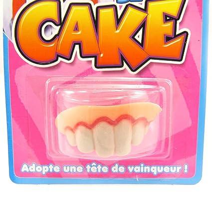 Amazon com: False teeth 'Tronche De Cake'  : Kitchen & Dining
