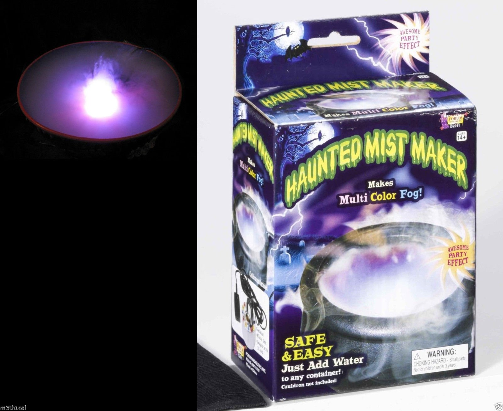 Haunted Mist Maker with Lights