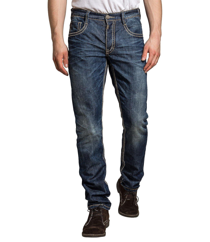 Timezone Herren Jeans Normaler Bund 26-5517 ALTZ 3106 waterline wash