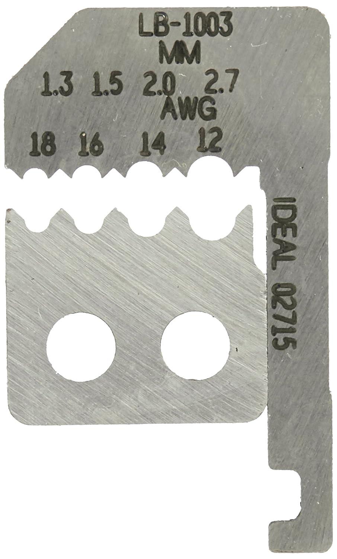 Ideal LB-1003 KBLD-SET STMLT 12-18GA,Black