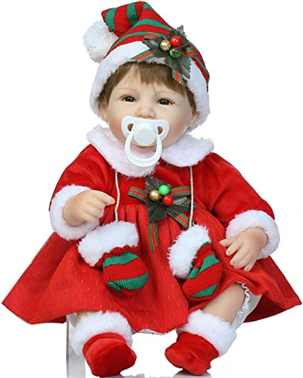 6 Size 1 Honest Diapers Limited Edition Winter//Christmas Print Reborn Baby Doll