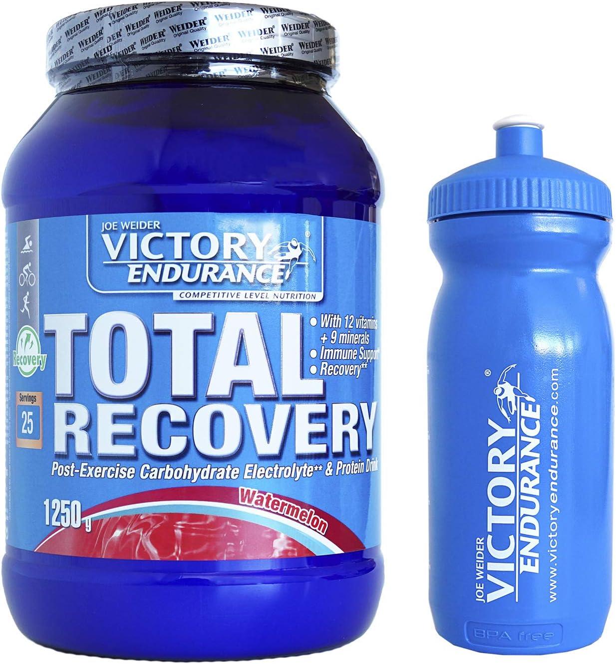 VICTORY ENDURANCE Total Recovery Sandía 1250G + BIDON 600ML AZUL VE…