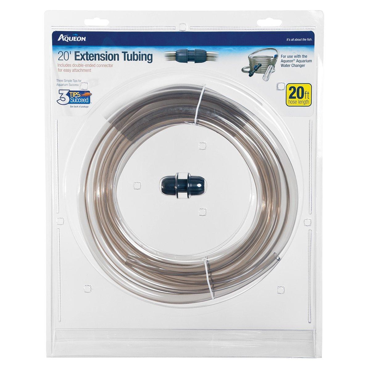 Amazon.com : Aqueon Aquarium Water Changer Extension Tubing, 20-Foot ...