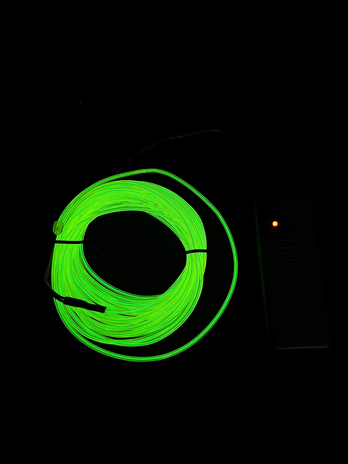 Green, 3M SOUTHSKY 3M El Wire Green Neon Lights Waterproof LED Indoor//Outdoor Christmas Decorations