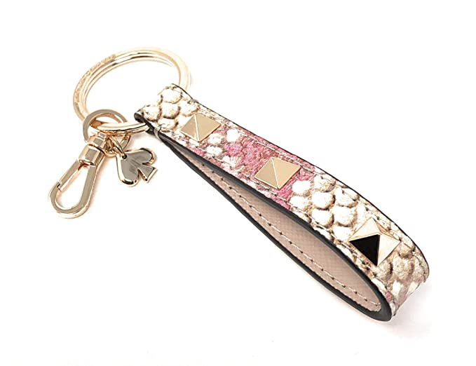 Amazon.com: Kate Spade Pyramid Strap Lanyard Key Fob Purse ...