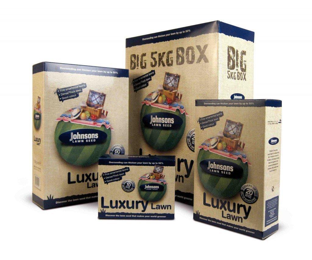 Decco Johnsons 591800 500g Luxury Lawn Seed Decco Ltd