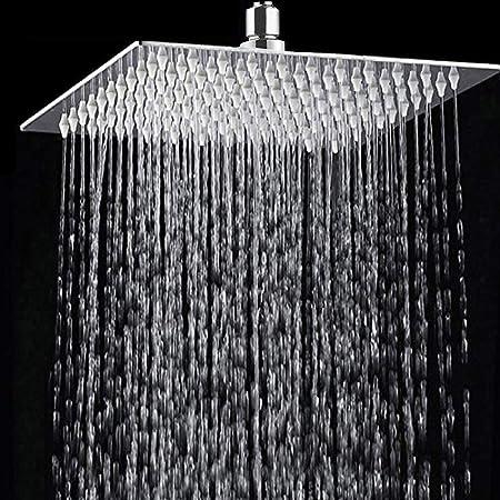 Showerhead S for The Bathroom,Modern Shower Head Shower Head Rectangular Universal Hand Shower Shower Chrome