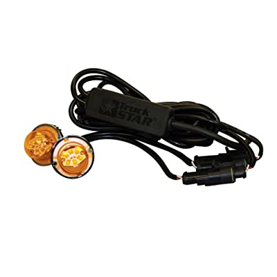 Buyers Products 8891227 Amber/Clear 6 LED Strobe Light: Automotive