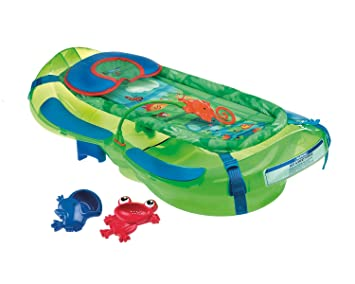 Fisher Price M Puericulture Bain De Bebe Baignoire De La Jungle