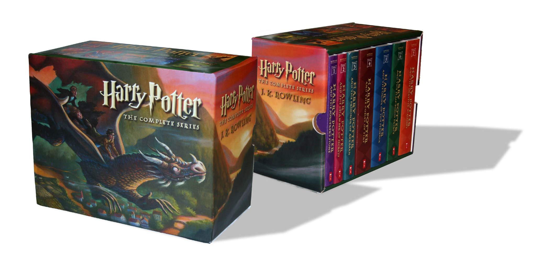 Harry Potter Paperback Box Set (Books 1-7) by Brand