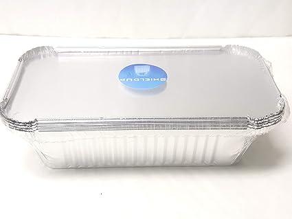 shieldup bandeja de papel de aluminio sartenes de goteo | Pack de 5 recipientes de aluminio