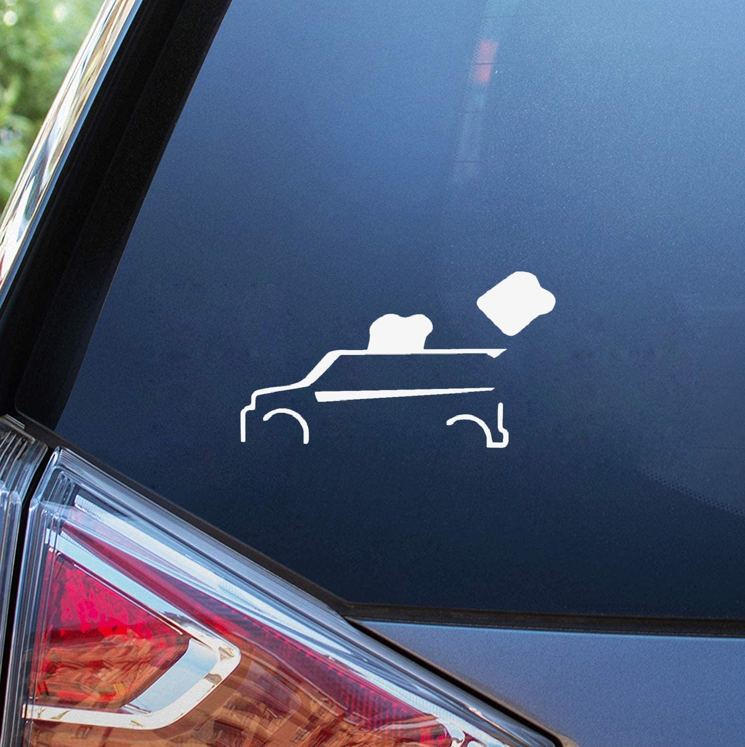 Natrire 3D Wall Stickers of Cars 18Cm X 10Cm Funny Scion Xb Toaster Car Truck Funny Window Sticker Decal Car Styling Car Sticker