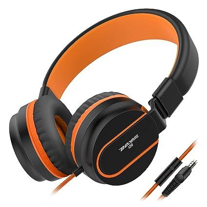 Amazoncom Headphones Besom I36 Kids Headphones Foldable Stereo