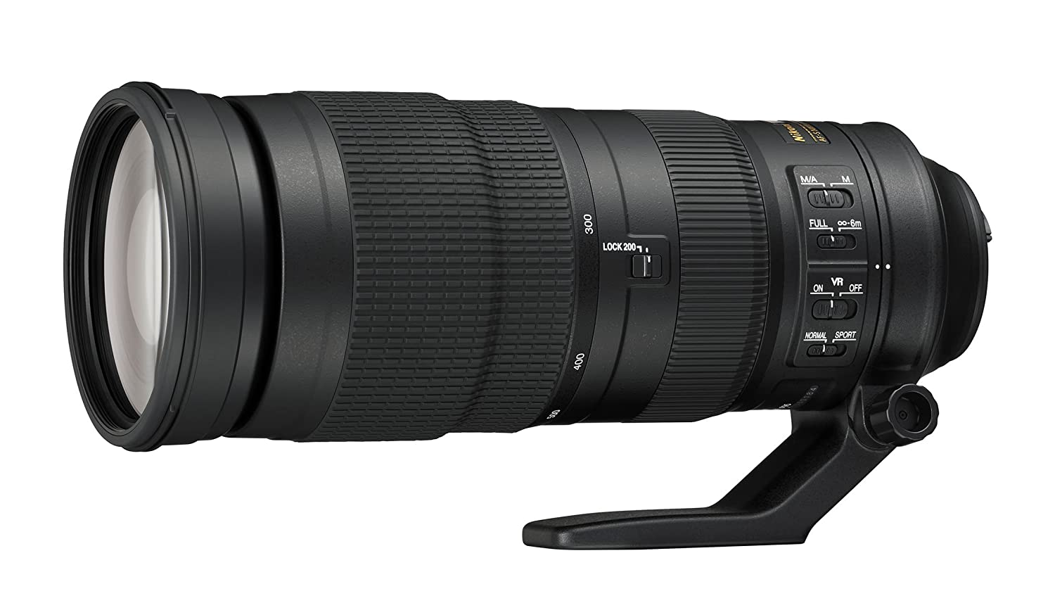 Nikon AF-S FX NIKKOR 200-500mm f/5.6E ED Vibration Reduction Zoom Lens