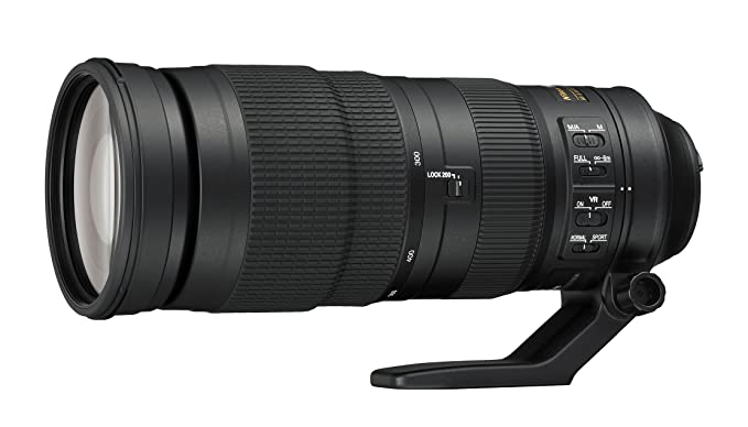 Nikon AF-S NIKKOR 200-500mm f/5.6E ED VR per fotoCamera
