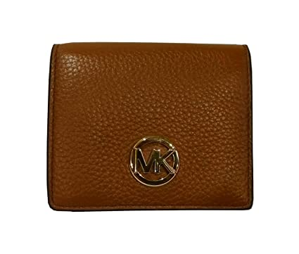 a193bd85e590 Image Unavailable. Image not available for. Color  Michael Kors Fulton  Leather Carryall Card Case Wallet (Luggage)