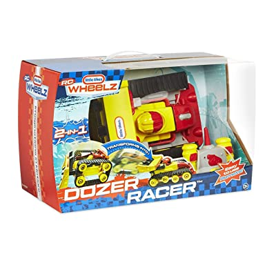 Little Tikes Dozer Racer 2-in-1 Rc Vehicle for Kids: Toys & Games
