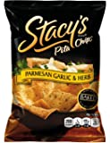 Stacy's Parmesan Garlic & Herb Flavored Pita Chips, 1.5 Ounce (Pack of 24)