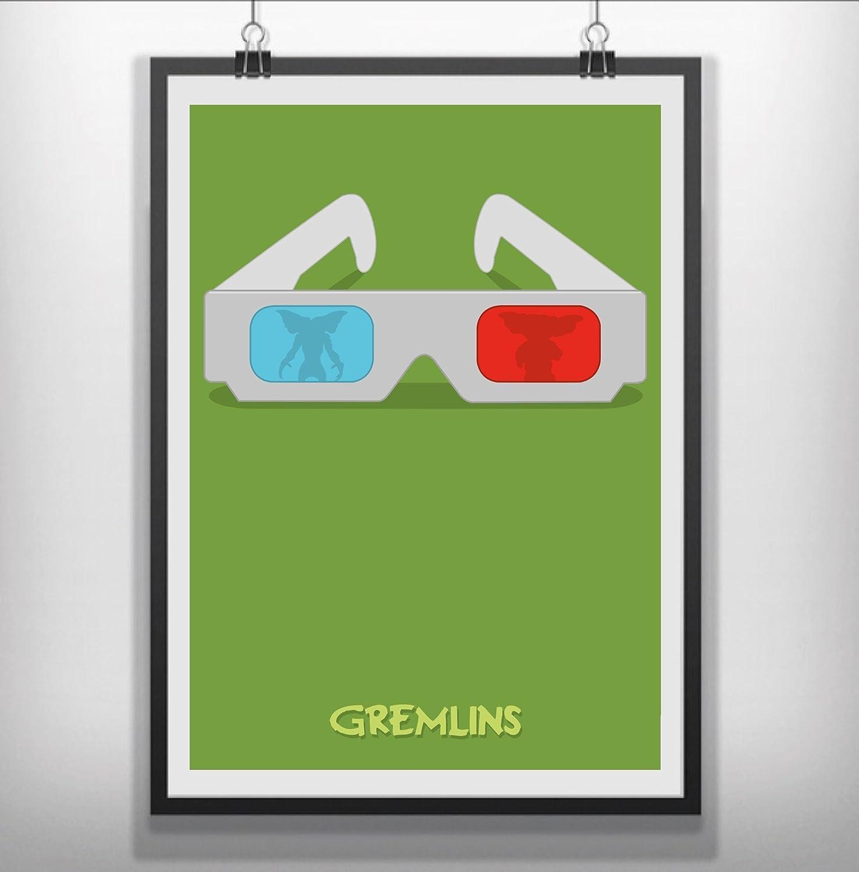 Gremlins Poster Prints A4 A3 Gremlins Prints