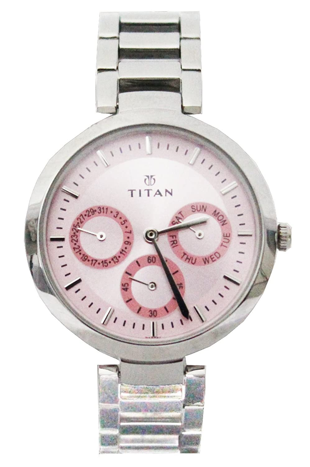 Buy Titan Youth Analog Pink Dial Womens Watch Nk2480sm05 Online At Casio Ltp 1378l 2e Women Quartz Blue Low Prices In India