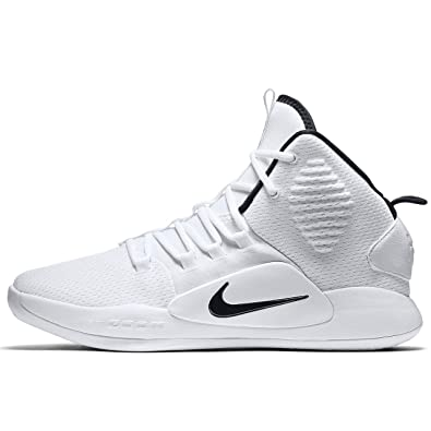 huge discount 59c3a e61bd Nike Men s Hyperdunk X Team Basketball Shoe White Black Size 8.5 ...