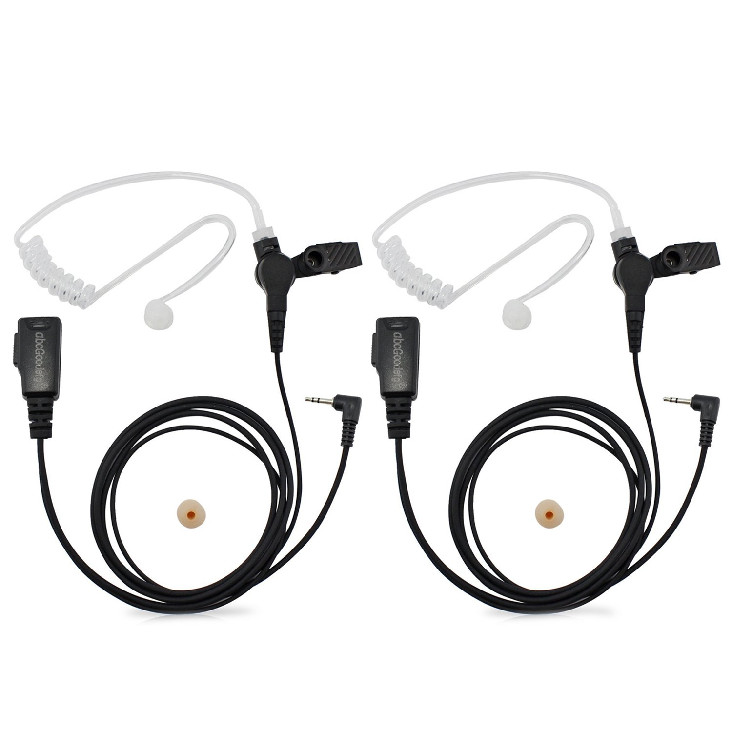 Acoustic Tube Headset//Earpiece Mic For Motorola Talkabout H20,T631,T260TP,T261TP