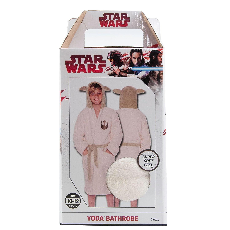Groovy Uk Kids Star Wars Yoda Bathrobe Large (8-10yrs) Debenhams 26456