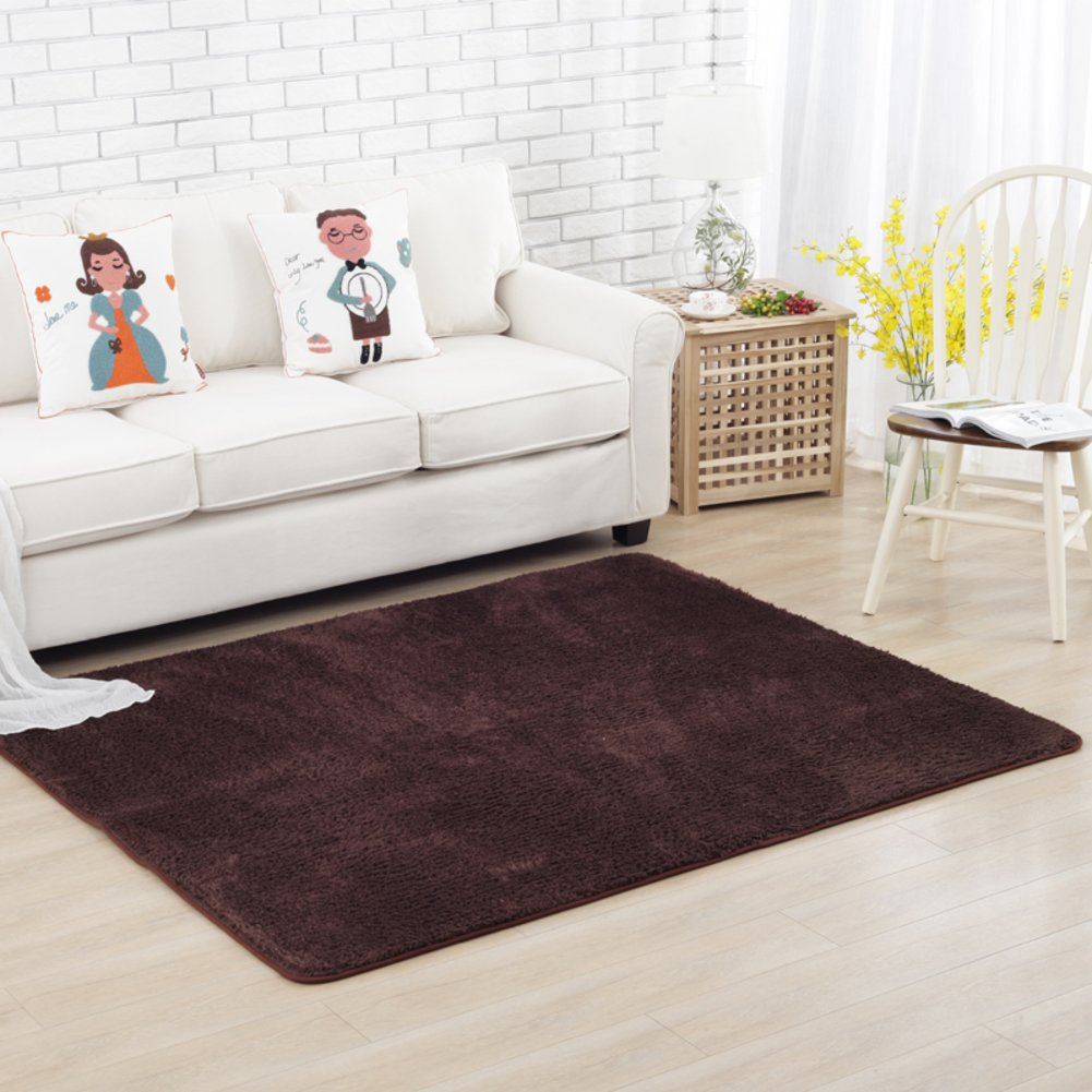 Fashion simple carpet The crawling child blanket Simple bed blanket Bedroom living room carpet-D 140x200cm(55x79inch)