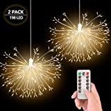 EVILTO 198 LED Firework Lights Fairy Lights with