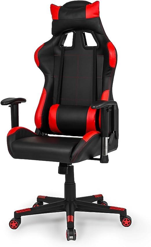 Due-Home - Silla ergonomica de Oficina Gaming Silverstone, sillón ...